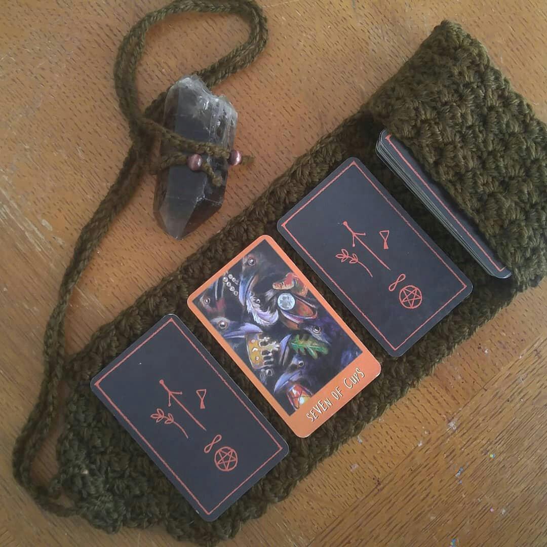 Tarot pouch Tarot card pouch Tarot card bag Tarot bag
